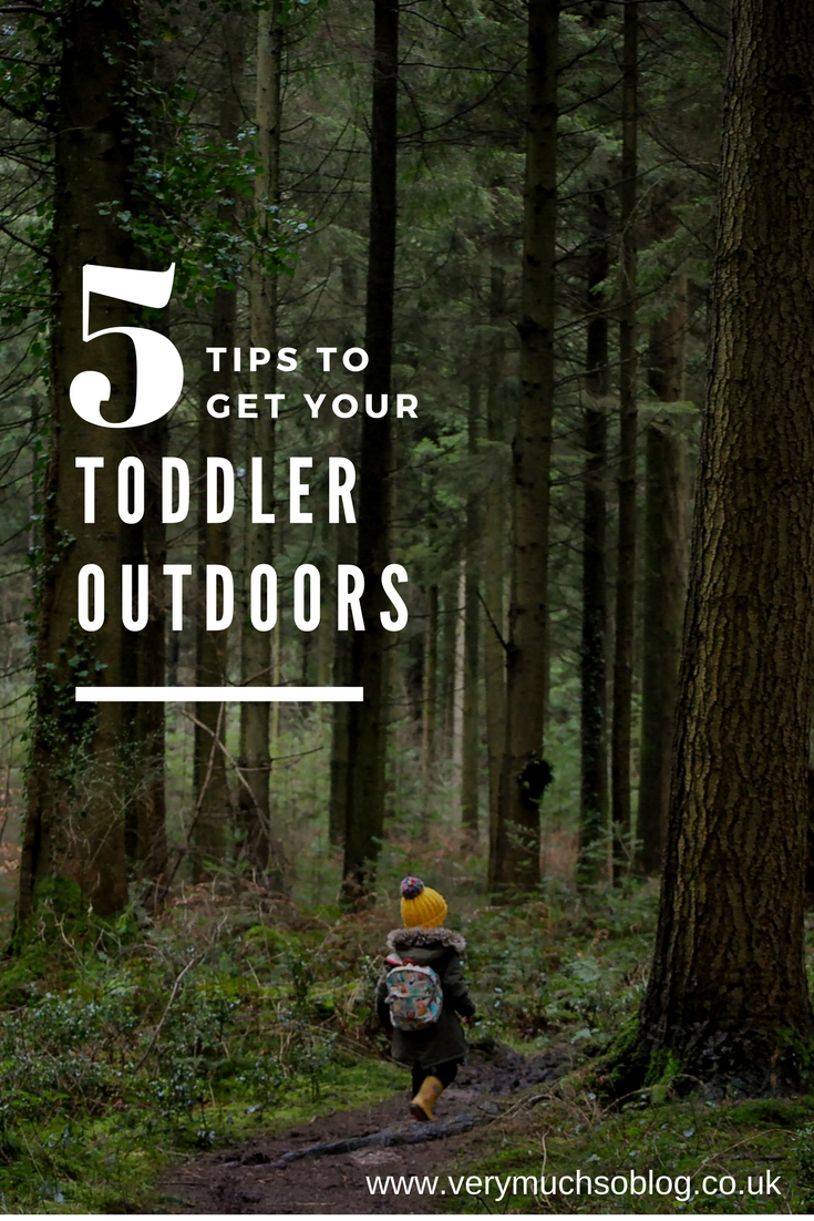 Five Easy Tips To Get Your Toddler Outdoors More