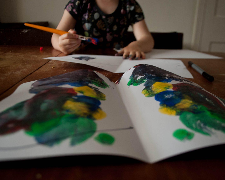 #30DaysWild | Painting Butterflies